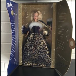 2001 Ring in the New Year Barbie by Avon